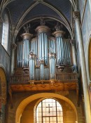 Orgue de St-Germain-des-Prés, Paris. Cliché personnel (nov. 2009)