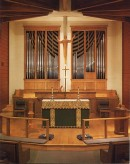 Orgue Steuart Goodwin (1995) de la St. George's Episcopal Church, Riverside. Crédit: //goodwinorgans.com/
