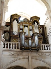Vue du Grand Orgue au zoom (une merveille). Cliché personnel