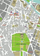 St-Germain-des-Prés dans Paris (plan). Crédit: //wikitravel.org/upload/fr/e/e8/Paris_6th.png