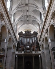 Grand Orgue, vue axiale. Cliché personnel