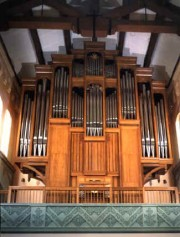 Grand Orgue Ott de la Mount Angel Abbey dans l'Oregon (USA). Crédit: www.martinottpipeorgan.com/