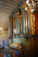 Vue du grand Buffet (anciennement Goll) de l'orgue. Cliché personnel