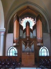 Autre vue du grand orgue. Cliché personnel