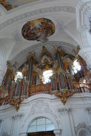 Vue du grand orgue Gabler. Cliché personnel