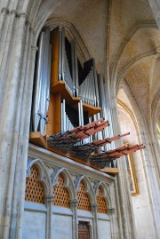 Vue du grand orgue. Cliché personnel
