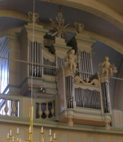 Orgue à Montlebon. Cliché personnel