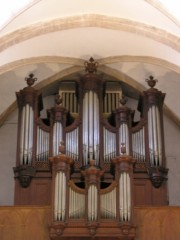 Le Grand Orgue (au zoom). Cliché personnel