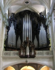 Vue du Grand Orgue restauré par Kuhn (2001). Cliché personnel