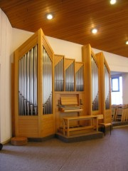 Orgue de Brünisried. Cliché personnel